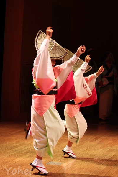 阿波踊り・阿波おどり会館・徳島県徳島市新町橋・画像・与平・旅すずめ