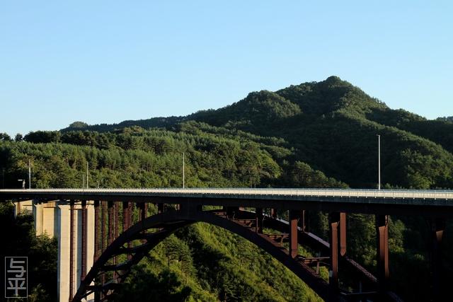 思惟大橋・道の駅たのはた・岩手県・田野畑村・画像・旅すずめ・与平