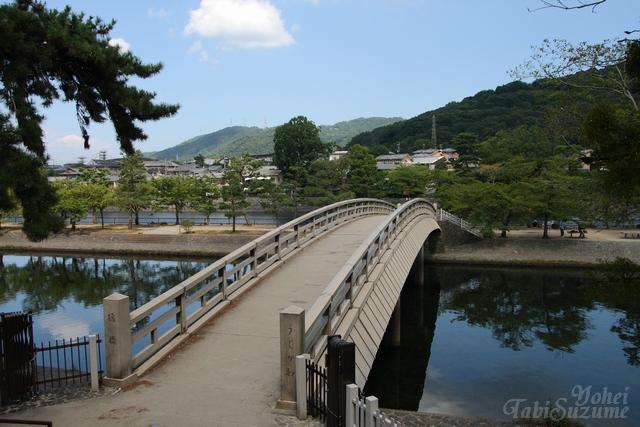 京都府宇治市・画像01宇治川に架かる橋