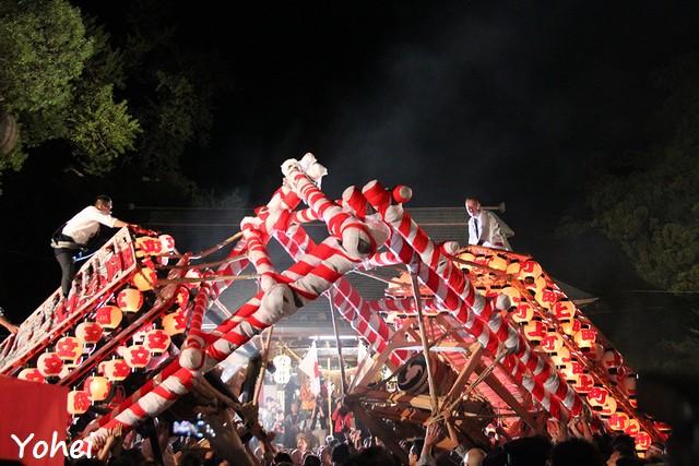 飯坂けんか祭り・福島県福島市飯坂町・画像・与平・旅すずめ