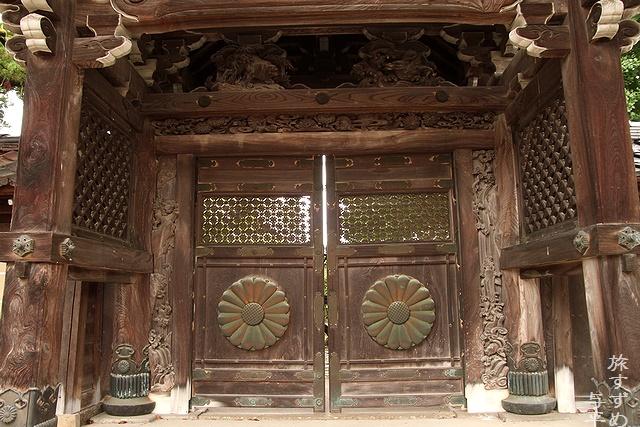 善徳寺・富山県南砺市城端・画像・旅すずめ・与平
