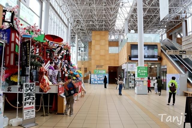 03 96 新庄駅、山形県新庄市、画像、shinjyo station、Tanji.jpg