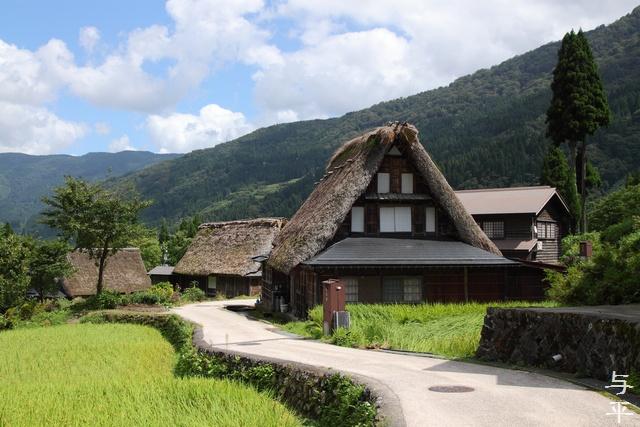 世界遺産・五箇山・相倉集落・菅沼集落・画像・旅すずめ・与平