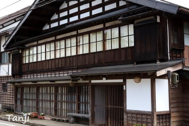 09 96 山形県金山町、金山の町並み、大堰、画像  Yamagata Kaneyama.jpg