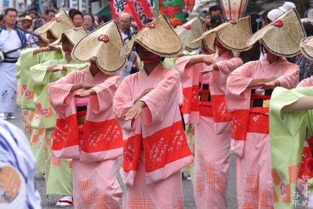 おわら風の盆・2012・富山県富山市八尾町・画像・旅すずめ・与平