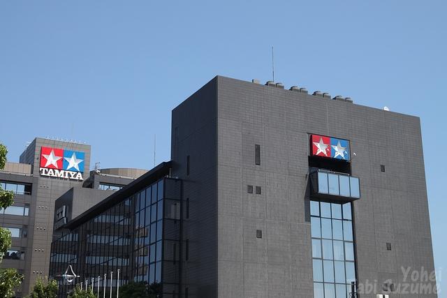 静岡県静岡市東静岡駅・実物大ガンダム・タミヤ本社