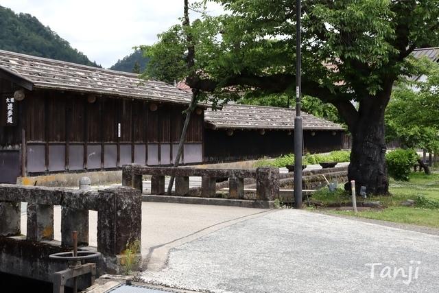 19 96 山形県金山町、金山の町並み、大堰、画像  Yamagata Kaneyama.jpg