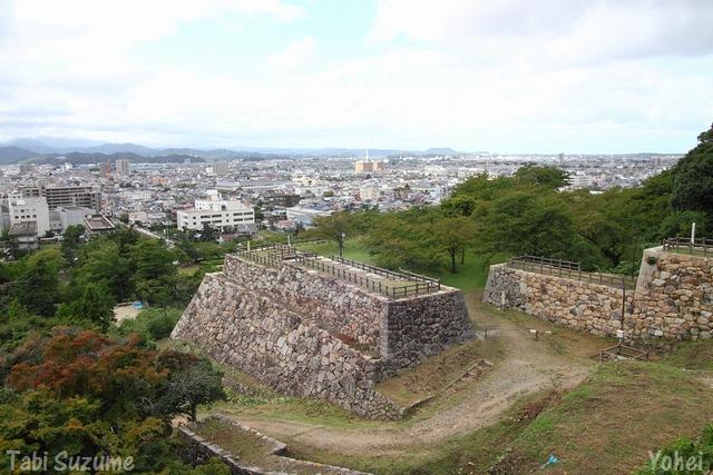 鳥取城・鳥取県鳥取市・画像・与平・旅すずめ