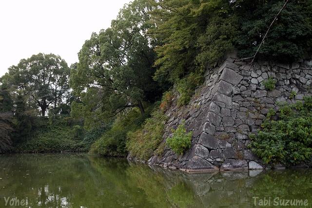 郡山城の石垣・画像・与平