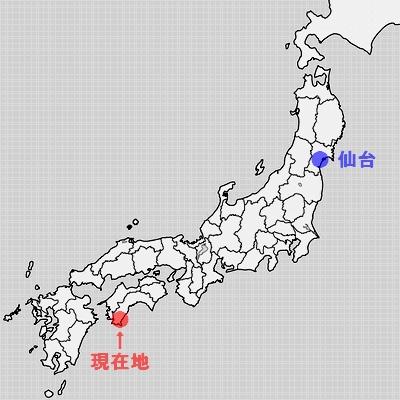 高知県足摺岬周辺地図