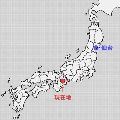 地図・伊賀上野周辺・旅すずめ